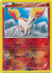 Ponyta - 14/83 - Common - Reverse Holo