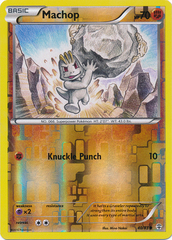Machop - 40/83 - Common - Reverse Holo