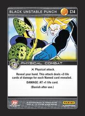 Black Unstable Punch - C014