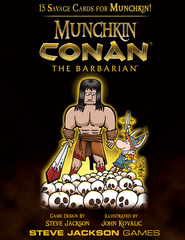 Munchkin Conan the Barbarian Booster Pk.
