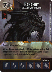 Bahamut - Dragon God of Good (Die & Card Combo)