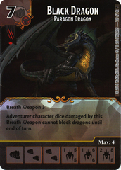 Black Dragon - Paragon Dragon (Die & Card Combo)