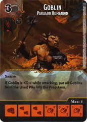 Goblin - Paragon Humanoid (Die & Card Combo)