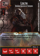 Lolth - Demon Queen of Spiders (Card Only)
