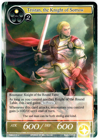 Tristan, the Knight of Sorrow - TMS-015 - U