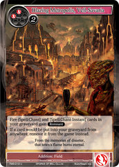 Blazing Metropolis, Vell-Savaria - TMS-019 - U - Foil on Channel Fireball