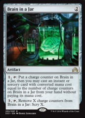 Brain in a Jar - Foil (SOI)