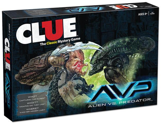 Clue -  Alien Vs Predator
