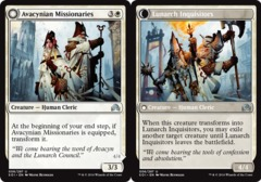 Avacynian Missionaries // Lunarch Inquisitors on Channel Fireball