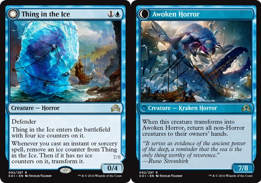 Thing in the Ice // Awoken Horror  - Foil