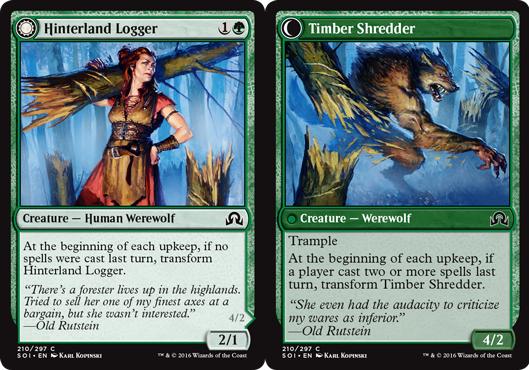 Hinterland Logger // Timber Shredder - Foil