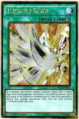 Tsukumo Slash - PGL3-EN013 - Gold Secret Rare - 1st Edition