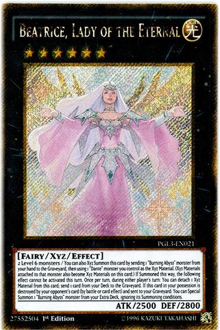Beatrice, Lady of the Eternal - PGL3-EN021 - Gold Secret Rare - 1st Edition