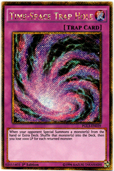 Time-Space Trap Hole - PGL3-EN039 - Gold Secret Rare - 1st Edition