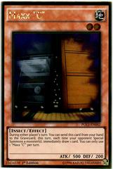 Maxx C - PGL3-EN042 - Gold Rare - 1st Edition