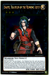 Dante, Traveler of the Burning Abyss - PGL3-EN077 - Gold Rare - 1st Edition