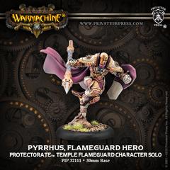 Pyrrhus, Flameguard Hero