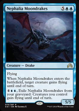 Nephalia Moondrakes - Foil