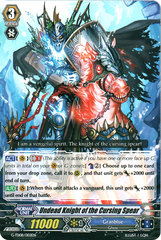 Undead Knight of the Cursing Spear - G-TD08/002EN on Channel Fireball