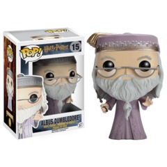 Harry Potter Series - #15 - Albus Dumbledore With Wand