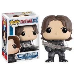 Funko Pop - Captain America: Civil War - #129 - Winter Soldier