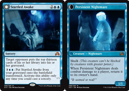 Startled Awake // Persistent Nightmare - Foil