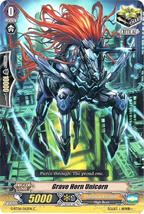 Grave Horn Unicorn - G-BT06/062EN - C