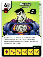 Bizarro - Focused (Die & Card Combo)