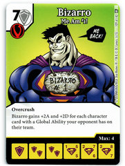 Bizarro - Me Am #1! (Die & Card Combo)