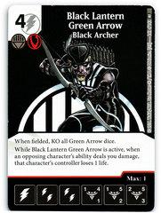 Black Lantern Green Arrow - Black Archer (Die & Card Combo)