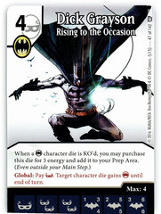 Dick Grayson - Rising to the Occasion (Card Only)