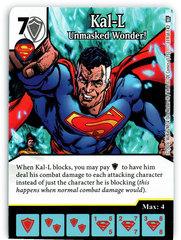 Kal-L - Unmasked Wonder! (Die & Card Combo)