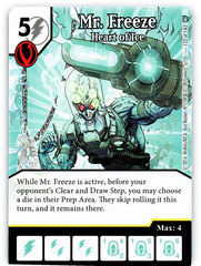 Mr. Freeze - Heart of Ice (Die & Card Combo)