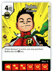 Robin - Dynamic (Die & Card Combo)
