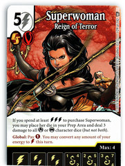 Superwoman - Reign of Terror (Die & Card Combo)
