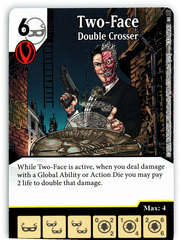 Two-Face - Double Crosser (Die & Card Combo)