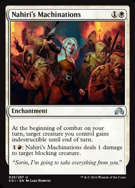 Nahiris Machinations - Foil