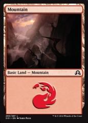 Mountain - Foil (293)(SOI)
