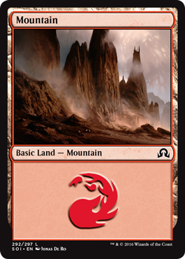 Mountain (292) - Foil