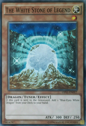 The White Stone of Legend - OP01-EN017 - Common - Unlimited Edition