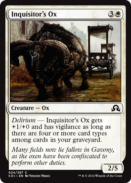 Inquisitors Ox - Foil