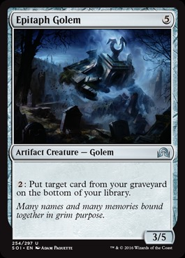 Epitaph Golem - Foil