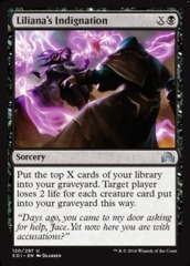 Liliana's Indignation - Foil