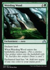 Weirding Wood