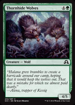 Thornhide Wolves - Foil