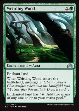Weirding Wood - Foil