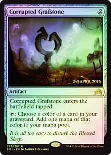 Corrupted Grafstone (Shadows over Innistrad Prerelease)