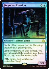 Forgotten Creation - Foil - Prerelease Promo
