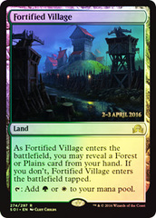 Fortified Village - Foil - Prerelease Promo