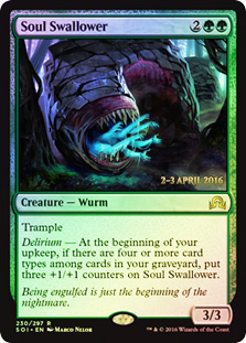 Soul Swallower (Shadows over Innistrad Prerelease 2-3 April